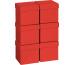 STEWO Geschenkbox 13.5x13.5x12.5cm 255178439 rot One Colour