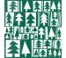 STEWO Servietten Fir 33x33cm 257263704 grün 20 Stück