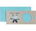 STEWO Geschenkkarte Monda 258163624 11x23cm hellblau