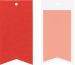STEWO Geschenkanhänger One Colour 258178432 rot