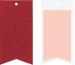 STEWO Geschenkanhänger One Colour 258178452 dunkelrot