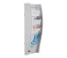 STYRO Wandprospekhalter A4 128-340.0 grau 4 Fächer