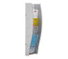 STYRO Wandprospekhalter A5 128-350.0 grau 5 Fächer