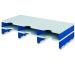 STYRO Schubladenbox Duo grau/blau 268-13021