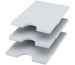 STYRO Tablare Flexiboard grau 280-3123. 3 Stück