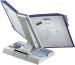 STYRO Tischeinheit styrofolder A4 310-52080 grau 10 Mappen