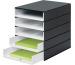 STYRO Schubladenbox PRO schwarz 8001.92 5 Fächer