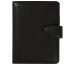 SUCCES Mini Ringbuch Cadiz Rindleder 0841365.0 schwarz mit Lasche 15mm