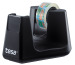 TESA Tischabroller EasyCut ecoLogo 539040000 Smart, schwarz,1 Rl.eco&clear