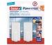 TESA Powerstrips Haken Classic 580100004 2 Haken/4 Strips Large