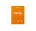 TESLA AM. Magnetic Pad A4 37 orange 50 Blatt