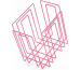 TMP Papiersammler/Zeitungsbinder 1111.32 neon-pink 37x27x37cm