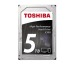TOSHIBA HDD X300 High Performance 5TB HDWE150EZ internal, SATA 3.5 inch