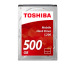 TOSHIBA Mobile Hard Drive L200 500GB HDWJ105UZ internal, SATA 2.5 inch BULK