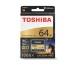 TOSHIBA COMPACT FLASH Exceria 64GB THN-C501G PRO C501 W150 / 160 gold