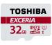 TOSHIBA micro SDHC Card Exceria 32GB THN-M302R M302 red