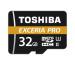 TOSHIBA micro SDHC Card Exceria 32GB THN-M501G Pro M501 UHS 2 gold