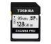 TOSHIBA SDXC Card Exceria Pro 128GB THN-N401S N401 silver