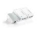 TP-LINK 2-port Powerline WiFi Exten. TLWPA4220 AV500 Triple KIT