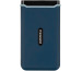 TRANSCEND ESD350C External SSD 240GB TS240GESD blue, USB-C, incl. Cables