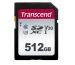 TRANSCEND SD Card 300S, 512GB TS512GSDC SDXC, UHS-I U3, C10, V30