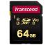 TRANSCEND SD Card 700S, MLC, 64GB TS64GSDC7 UHS-II U3