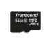 TRANSCEND microSDXC 64GB Card 300x TS64GUSDX (UHS-I, U1) incl. SD-Adapter