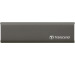TRANSCEND ESD250C External SSD 960GB TS960GESD Spacegrey, incl. Cables