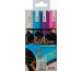 UNI-BALL Chalk Marker 1,8-2,5mm PWE5M.4C. 4 Farben, Etui