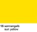 URSUS Plakatkarton 48x68cm 1002515 380g, gelb
