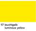 URSUS Plakatkarton 48x68cm 1002517 380g, gelb