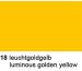 URSUS Plakatkarton 48x68cm 1002518 380g, gelb