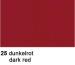 URSUS Plakatkarton 48x68cm 1002525 380g, rot