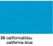URSUS Plakatkarton 48x68cm 1002535 380g, blau