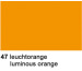 URSUS Plakatkarton 48x68cm 1002547 380g, orange