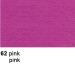 URSUS Plakatkarton 48x68cm 1002562 380g, pink