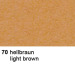 URSUS Plakatkarton 48x68cm 1002570 380g, braun