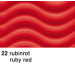 URSUS Wellkarton 50x70cm 10142222 260g, rubinrot
