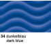 URSUS Wellkarton 50x70cm 10142234 260g, dunkelblau