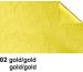 URSUS Bastelfolie Alu 50x80cm 4442102 90g, gold/gold