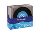 VERBATIM CD-R Slim 80MIN/700MB 43426 52x Vinyl 10 Pcs