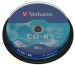 VERBATIM CD-R Spindle 80MIN/700MB 43437 52x 10 Pcs