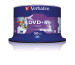 VERBATIM DVD+R Spindle 4.7GB 43512 1-16x print wide 50 Pcs