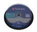 VERBATIM BD-R Spindle whi./blue 50GB 43746 6x DL Scratchgrd+ 10 Pcs