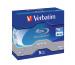 VERBATIM BD-R Jewel white/blue 50GB 43748 6x DL Scratchguard+ 5 Pcs