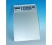 WEDO Klemmbrett aus Aluminium A4 57 954 silber