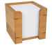 WEDO Zettelbox 90x90mm 61707 braun 900 Blatt