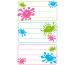Z-DESIGN Sticker Klecks 8.4x16cm 59668Z farbig 2 Bogen