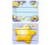 Z-DESIGN Sticker Stern 8.4x16cm 59669Z gelb 2 Bogen